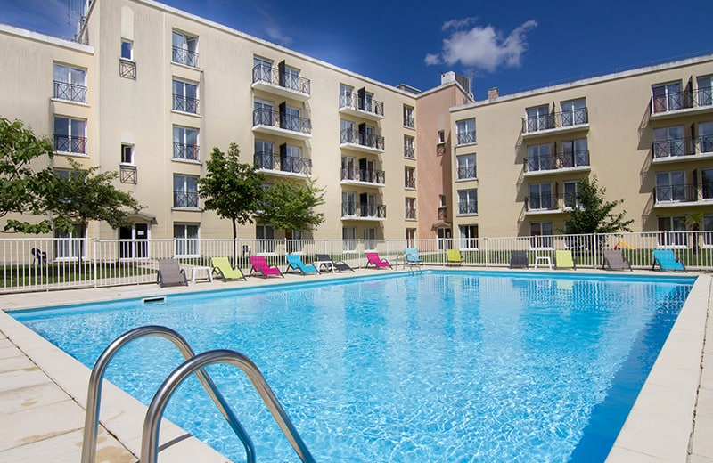 Residence du parc val d 39 europe apart 39 hotel disneyland paris for Piscine val d europe