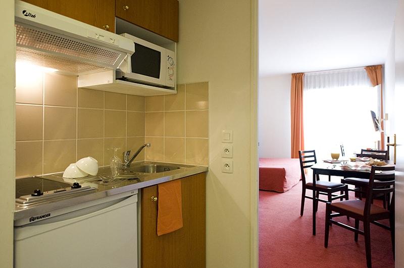 Residence du Parc coin cuisine